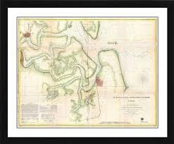 Printoyster U S Coast Survey Map Chart Of St Marys