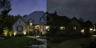 outdoor lighting perspective. Wilmington, Delaware Architectural Façade Lighting Enhances Curb Appeal | Outdoor Perspectives Of Valley Perspective M