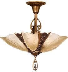 art deco ceiling light fixtures antique chandelier lighting vintage bathroom new full size of