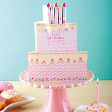 Birthday Cake Card Tutorial Docraftscom