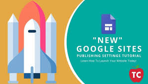 Google Site Templates How Do You Publish A New Google Site Publishing Settings