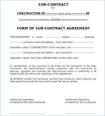 Free Business Contract Templates For Word - Forumdefoot.net