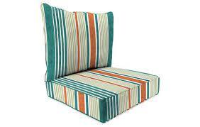 2 piece deep seat chair cushion