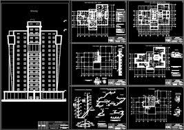 Мои Чертежи скачать Многоэтажные жилые дома Бесплатно Многоэтажный жилой дом