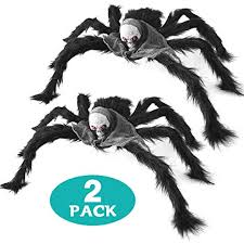 <b>Halloween</b> Spider Decorations 2 Pack 30'' /<b>75cm</b> Giant <b>Halloween</b> ...
