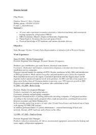 Fmcg Resume Sample Car Sales Consultant Cover Letter Agenda Format