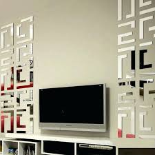 mirrored wall art decor best popular mirror wall art style sticker l and stick reflected surfaces