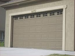 garage door style to match front door windows maybe in light almond or desert taupe