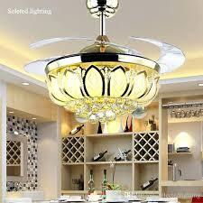light for ceiling fan inch ceiling fan crystal chandelier lotus ceiling light changeable light light for ceiling fan