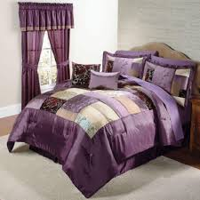 Purple Color Schemes For Bedrooms Bedding Magnificent Black And Purple Color Scheme For Bedroom With