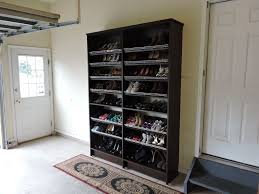 shoe storage in garage