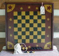 How To Make A Wooden Game Board Old Game Boards Checker Boards Barn Wood Game Boards 48