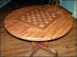new coffee table chess set fresh handmade butcher block with board by classic woodwork glass bo image of chess coffee table wooden