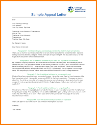 financial aid appeal letter sample reinstatement financial aid reinstatement appeal letter example