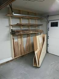 wood storage rack. garage storage systems: maximize your space wood rack