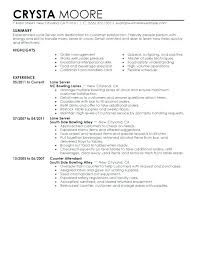 Server Resume Sample Skills – Eukutak