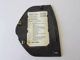 Mercedes Dash Fuse Box Cover Left 2086800178 W208 Clk320 Clk430 Clk55 Amg
