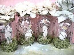 Decorating Jam Jars For Wedding Feathers Kidston And Jam Jars Oh My Theguiltedgedbride 39