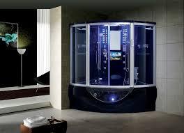 steam shower. Superior White Black Strada Steam Shower A