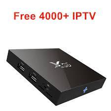 Gratis X96 IPTV Android tv box USA UK DE IT Canada swedia Norwegia Denmark  Spanyol Perancis Ceko Finlandia Israel Arab Latin Umum|Set-top Box