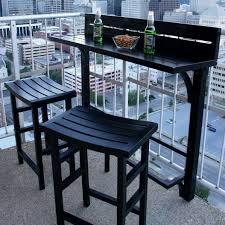 condo outdoor furniture dining table balcony. 7911B_Balcony Bar 3pc Set_onyx_lifestyle_square Condo Outdoor Furniture Dining Table Balcony