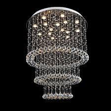 15 lights modern led k9 crystal ceiling pendant light indoor chandeliers home hanging down lighting lamps