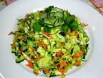 Простой салат из огурцов рецепт с фото