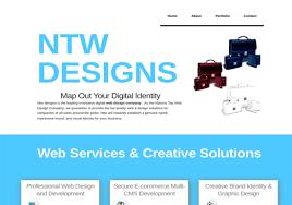 Cool Web Design Company Names Ntw Designs Web Design Company Css Winner