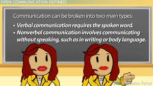 open communication in the workplace definition skills benefits  open communication in the workplace definition skills benefits video lesson transcript com