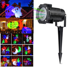 Christmas Light Show Pictures Us 25 99 40 Off Christmas Light Projector Ucharge Rotating Projector Snowflake Spotlight Led Light Show For Halloween Party Holiday Decoration In