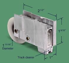 sliding door roller alcan alternate image for 81 133