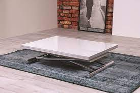 coffee table convertible in dining
