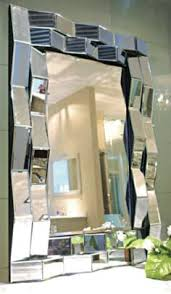 Small Picture Boyd floor mirror is rectangular with satin black finish beveled