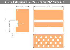 Die höhe kann man individuell auf. Baby Side Bed Natural For Ikea Malm Low Version Amazon De Baby