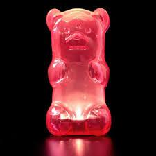 Light Gummy Bears Squeezable Gummy Bear Night Light