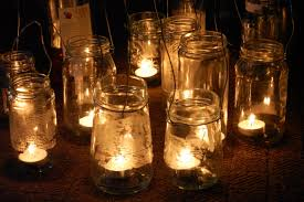 Simple Candle Decoration Simple Diy Rustic Hanging Mason Jar Candle Holder Lanterns For