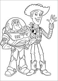 Small Picture Toy story coloring pages woody and buzz ColoringStar