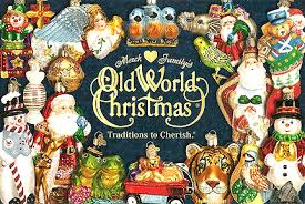 Our selection of Old World Christmas ornaments is separated by categories  listed below. We have a huge selection of the German made and China  manufactured ...
