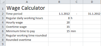 Time And Pay Calculator Average Salary Ceo Non Profit Organization Salary To Hourly