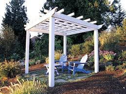 Backyard Grape Trellis How To Build A Backyard Pergola Sunset Image On  Wonderful Hops How To