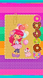 1242x2208 strawberry shortcake android wallpapers flower sweetie belle wall papers leaves paint