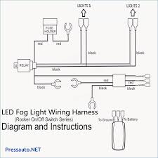 12v 40a led fog light wiring harness laser rocker switch how to wire driving lights using a relay at Fog Lamp Relay Wiring Diagram