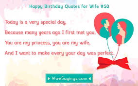 Birthday Quotes For Wife Classy Happy Birthday Quotes For Wife WowSayings