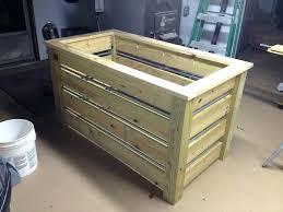 wooden trash bin wooden trash can holder kitchen plans wood bin garbage bag wooden trash can wooden trash bin