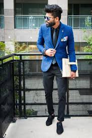 How To Wear A Light Blue Floral Pocket Square 5 Looks Men S