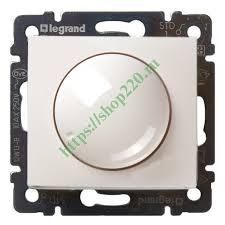 Купить Светорегулятор <b>Legrand Valena поворотный</b> 400W белый ...