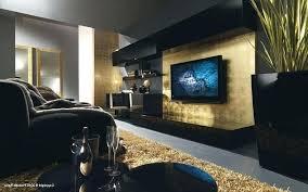 black and gold living room decor white