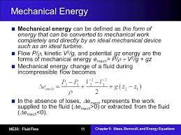 what is mechanical energy equation