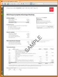Sample Bank Statement 24 wells fargo bank statement sample Case Statement 24 1