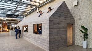 Small Picture Hibinosekkei installs micro house in Japanese kindergarten to